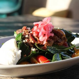 Beef Spinach Salad