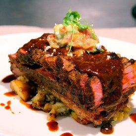 Slow Cooked Beef Rib